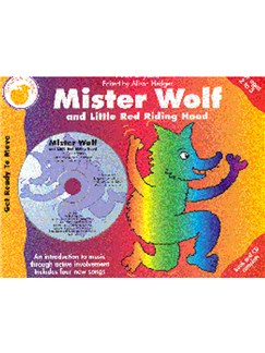 Ann Bryant: Mister Wolf (And Little Red Riding Hood) (Book/CD) Books and CDs | Piano, Voice