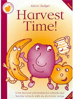 Alison Hedger: Harvest Time! (Cassette)  | Percussion, Soprano (Descant) Recorder, Voice, Piano Accompaniment