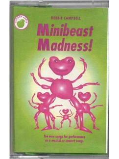 Debbie Campbell: Minibeast Madness! (Cassette)  | Piano, Voice