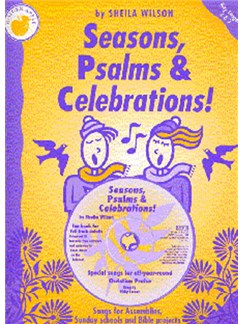 Sheila Wilson: Seasons, Psalms And Celebrations (Teacher's Book/CD) Books and CDs | Piano, Vocal & Guitar