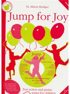 Alison Hedger: Jump For Joy (Teacher's Book/CD) Books and CDs | Piano, Vocal & Guitar