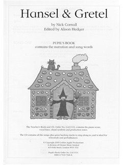 Nick Cornall: Hansel And Gretel (Pupil's Book) Books |