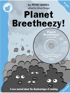 Peter Fardell: Planet Breetheezy! (Teacher's Book/CD) Books and CDs | Piano, Vocal & Guitar