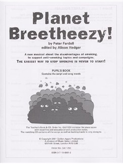 Peter Fardell: Planet Breetheezy! (Pupil's Book) Books | Lyrics Only