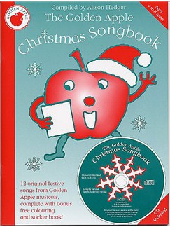 The Golden Apple Christmas Songbook Books and CDs | Voice, Piano Accompaniment