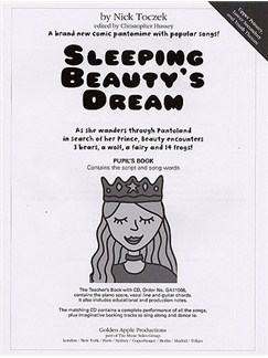 Nick Toczek: Sleeping Beauty's Dream (Pupil's Book) Books | Unison Voice, Piano Accompaniment
