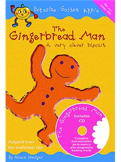 Bitesize Golden Apple: The Gingerbread Man (A Very Clever Biscuit) Books and CDs | Unison Voice, Piano Accompaniment