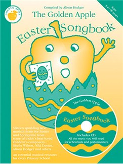 The Golden Apple Easter Songbook (Teacher's Book/CD) Books and CDs | Unison Voice, Piano Accompaniment