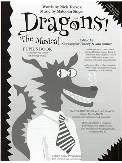 Dragons! The Musical (Pupil's Book) Books | Voice, Piano Accompaniment