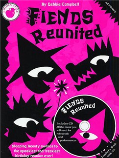 Debbie Campbell: Fiends Reunited (Teacher's Book/CD) Books and CDs | Guitar, Voice, Piano Accompaniment
