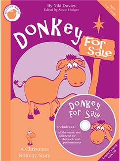 Niki Davies: Donkey For Sale (Teacher's Book/CD) Books and CDs | Piano, Vocal & Guitar