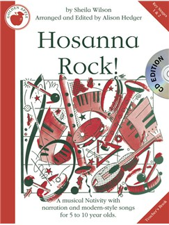 Sheila Wilson: Hosanna Rock! (Teacher's Book/CD) Books and CDs | Voices, Piano Accompaniment
