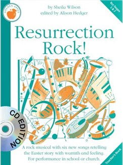 Sheila Wilson: Resurrection Rock! (Teachers Book And CD) Books and CDs | 2-Part Choir, Piano Accompaniment