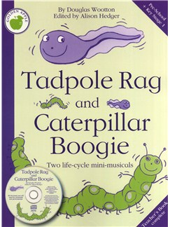 Douglas Wootton: Tadpole Rag And Caterpillar Boogie (Teacher's Book/CD) Books and CDs | Piano, Vocal & Guitar