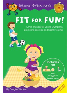 Douglas Wootton: Fit For Fun! (Bitesize Golden Apple) Books and CDs | Voice
