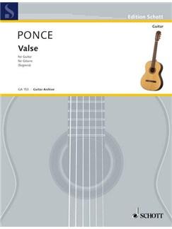 Manuel Maria Ponce: Valse Books | Guitar