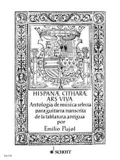Emilio Pujol Vilarrubí: Hispanae Citharae Ars Viva Books | Guitar