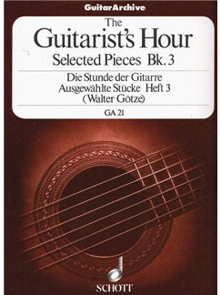 Goetze: The Guitarist's Hour Book 3 Books | Guitar