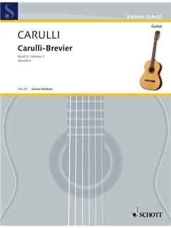 Ferdinando Carulli: Carulli-Brevier Vol. 3 Books | Guitar