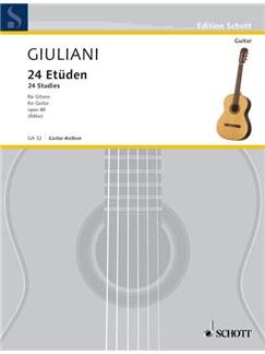 Mauro Giuliani: 24 Etüden Op. 48 Books | Guitar