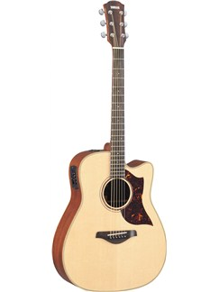 Yamaha: A3M Concert Electro-Acoustic Guitar - With Hardcase Instruments | Electro-Acoustic Guitar