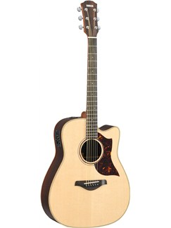 Yamaha: A3R Electric Acoustic Guitar (With Hard Case) Instruments | Electro-Acoustic Guitar