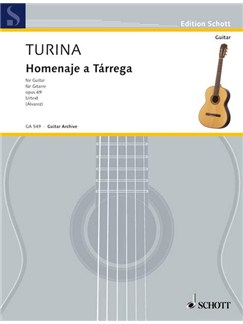 Joaquín Turina: Homenaje A Tárrega Op. 69 Books | Guitar