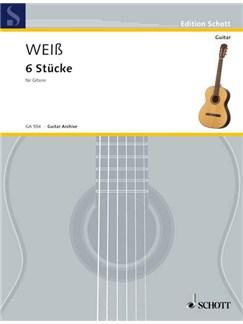 Silvius Leopold Weiß: 6 Stücke Books | Guitar