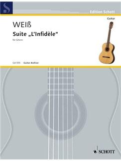 "Silvius Leopold Weiß: Suite ""L'Infidèle"" Books | Guitar"