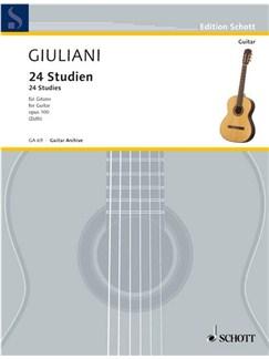 Mauro Giuliani: 24 Studien Op. 100 Books | Guitar