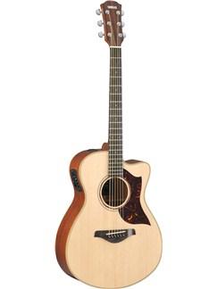 Yamaha: AC3M Concert Electro-Acoustic Guitar - With Hardcase Instruments | Electro-Acoustic Guitar