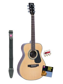Musicroom: V300 Guitar Plus Accessories Starter Pack Instruments | Acoustic Guitar