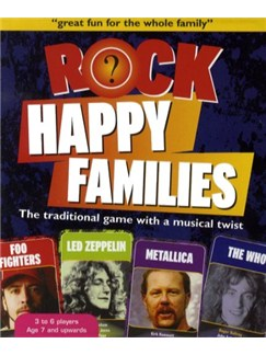 Music Games: Rock Happy Families  |