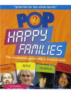 Music Games: Pop Happy Families  |