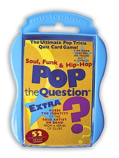 Pop the Question: Soul, Funk And Hip Hop EXTRA (Pocket Edition)  |