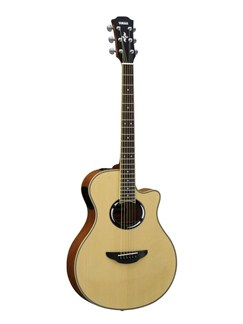Yamaha: APX500III Electro-Acoustic Guitar - Natural Instruments | Electro-Acoustic Guitar