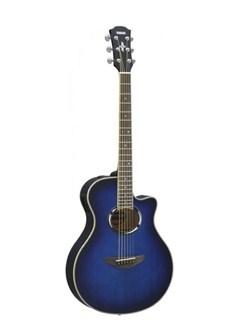 Yamaha: APX500III Electro-Acoustic Guitar - Oriental Blue Instruments | Electro-Acoustic Guitar