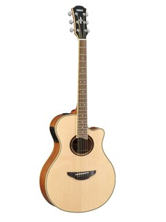 Yamaha: APX700II Electro-Acoustic Guitar (Natural) Instruments | Electro-Acoustic Guitar