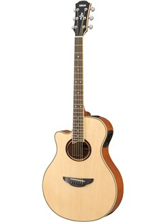 Yamaha: APX700II Left Handed Electro Acoustic Guitar - Natural Instruments | Electro-Acoustic Guitar