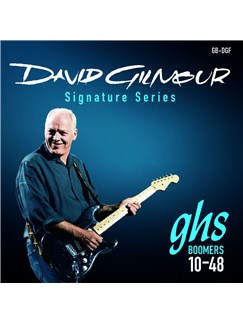 GHS: Dave Gilmour Signature Strings - Blue Set (10-48s)  | Electric Guitar