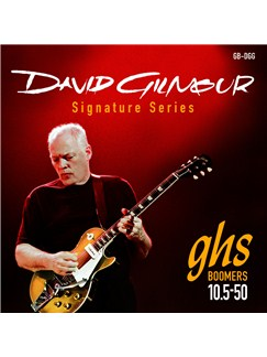 GHS: Dave Gilmour Signature Strings - Red Set (10.5-50s)  | Electric Guitar