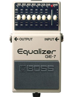 Boss: GE7 Equalizer Pedal  | Electric Guitar