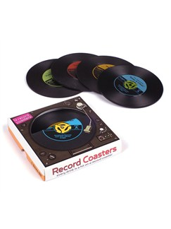 Record Coasters (Pack Of 4)  |