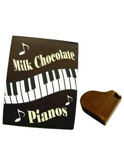 Mini Belgian Milk Chocolate Grand Pianos - 100g  |