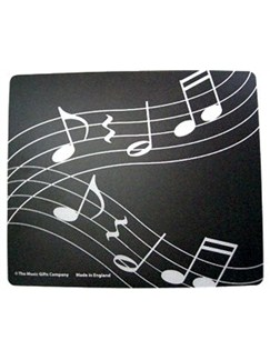 Music Gifts: Mousemat - Wavy Music  |