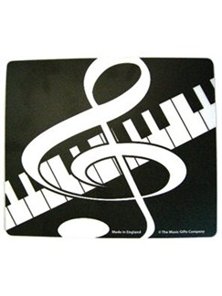 Music Gifts: Mousemat - Clef & Keyboard  |