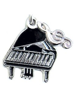Mobile Phone Charm - Grand Piano  | Piano