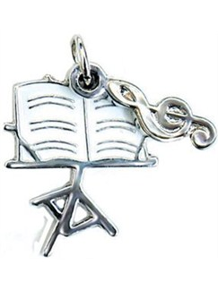 Mobile Phone Charm - Music Stand  |