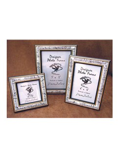 The Music Gifts Company: White Mozart Photo-Frame (A4 Certificate)  |