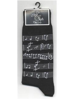 The Music Gifts Company: Manuscript Socks  |